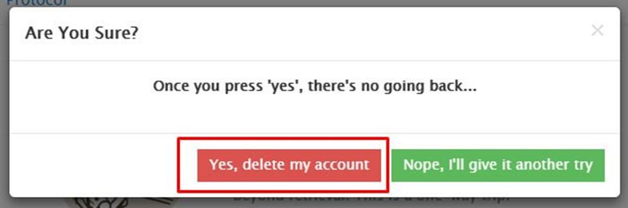 Как удалить аккаунт в Telegram?